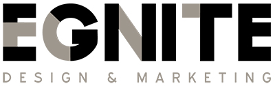 Egnite Design and Marketing Logo