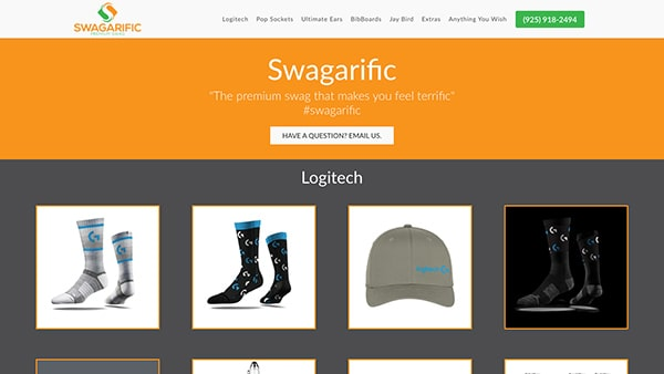 Swagarific Website